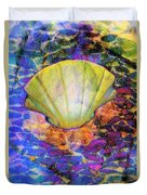 Color In Shell Duvet Cover