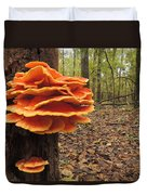 Color In The Woods Duvet Cover
