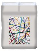 Color Lines Variety Duvet Cover
