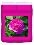 Color Of Rose Duvet Cover