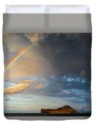 Color Of The Rain Duvet Cover