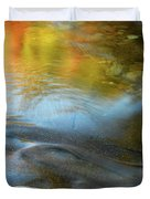 Color On The Swift River Nh Duvet Cover