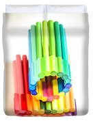 Color Pens 10 Duvet Cover