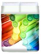 Color Pens 3 Duvet Cover