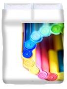 Color Pens 8 Duvet Cover