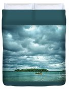 Color Play Before Storm Duvet Cover