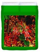 Autumn Foliage  Duvet Cover