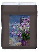 Color Purple Duvet Cover