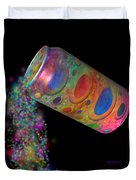 Color Spill Duvet Cover