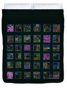 Color Square 2 Duvet Cover