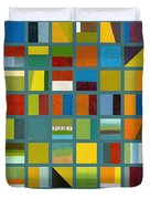 Color Study Collage 67 Duvet Cover