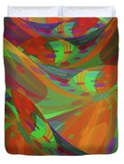 Color Swells Duvet Cover