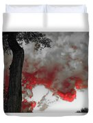Color The Clouds Duvet Cover