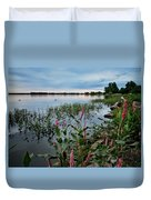 Color Wakes Up Duvet Cover