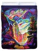 Colorado Abstract Duvet Cover