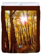 Colorado Aspen Gold 3 Duvet Cover