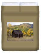 Colorado Cabin Duvet Cover