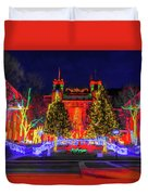 Colorado Christmas Duvet Cover