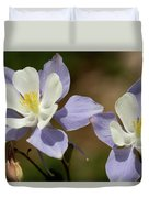 Colorado Columbine #1 Duvet Cover