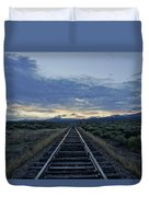 Colorado Daybreak Duvet Cover