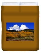Colorado Fall 2 Duvet Cover