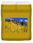 Colorado Fall 3 Duvet Cover
