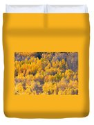 Colorado High Country Autumn Colors Duvet Cover