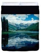 Colorado Lake Duvet Cover