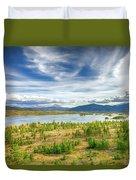 Colorado Landscape Duvet Cover