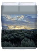 Colorado Morning Duvet Cover