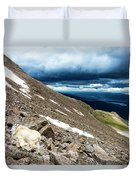 Colorado Mountain Goat Duvet Cover