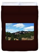 Colorado Mountains Duvet Cover