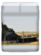 Colorado Past And Present Duvet Cover