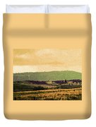 Colorado Ranchlands Duvet Cover