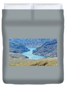 Colorado River Arizona Duvet Cover
