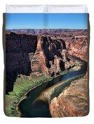 Colorado River Horseshoe Bend  Duvet Cover