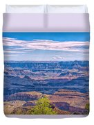 Colorado River In The Grand Canyon Duvet Cover
