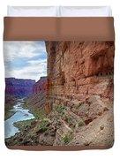 Colorado River Duvet Cover