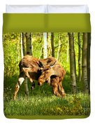 Colorado Rockies Moose Duvet Cover