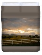 Colorado Rocky Mountain Country Sunset Duvet Cover by James BO  Insogna