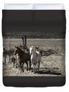 Colorado Run Duvet Cover