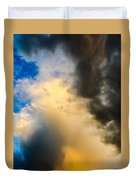 Colorado Skies Duvet Cover