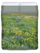 Colorado Summer Color Duvet Cover