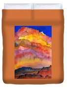 Colorado Sunset Duvet Cover