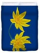 Colorado Wildflower Duvet Cover