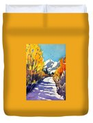 Colorado Winter 1 Duvet Cover