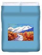 Colorado Winter 2 Duvet Cover
