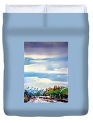 Colorado Winter 7 Duvet Cover
