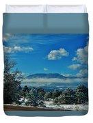 Colorado Winter Duvet Cover