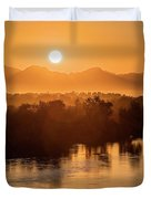 Coloradoriversunrise-yuma Duvet Cover